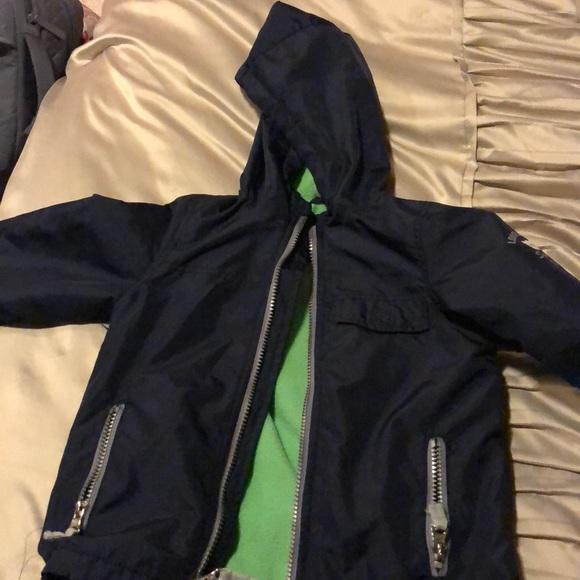 Other - Fleece lined rain jacket